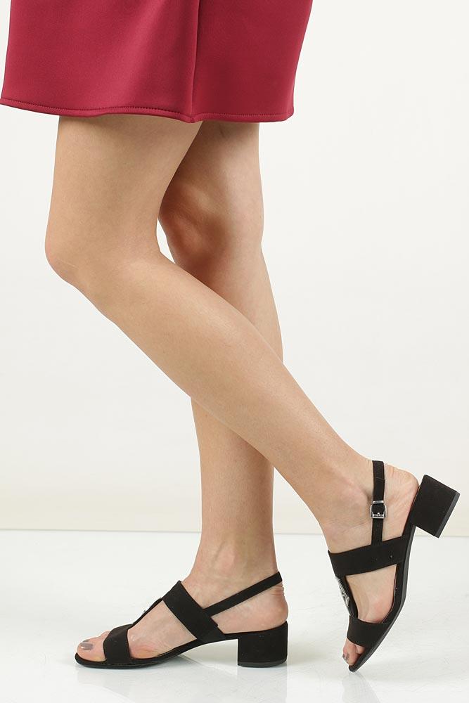 Sandały czarne Marco Tozzi 2-28200-28 model 2-28200-28