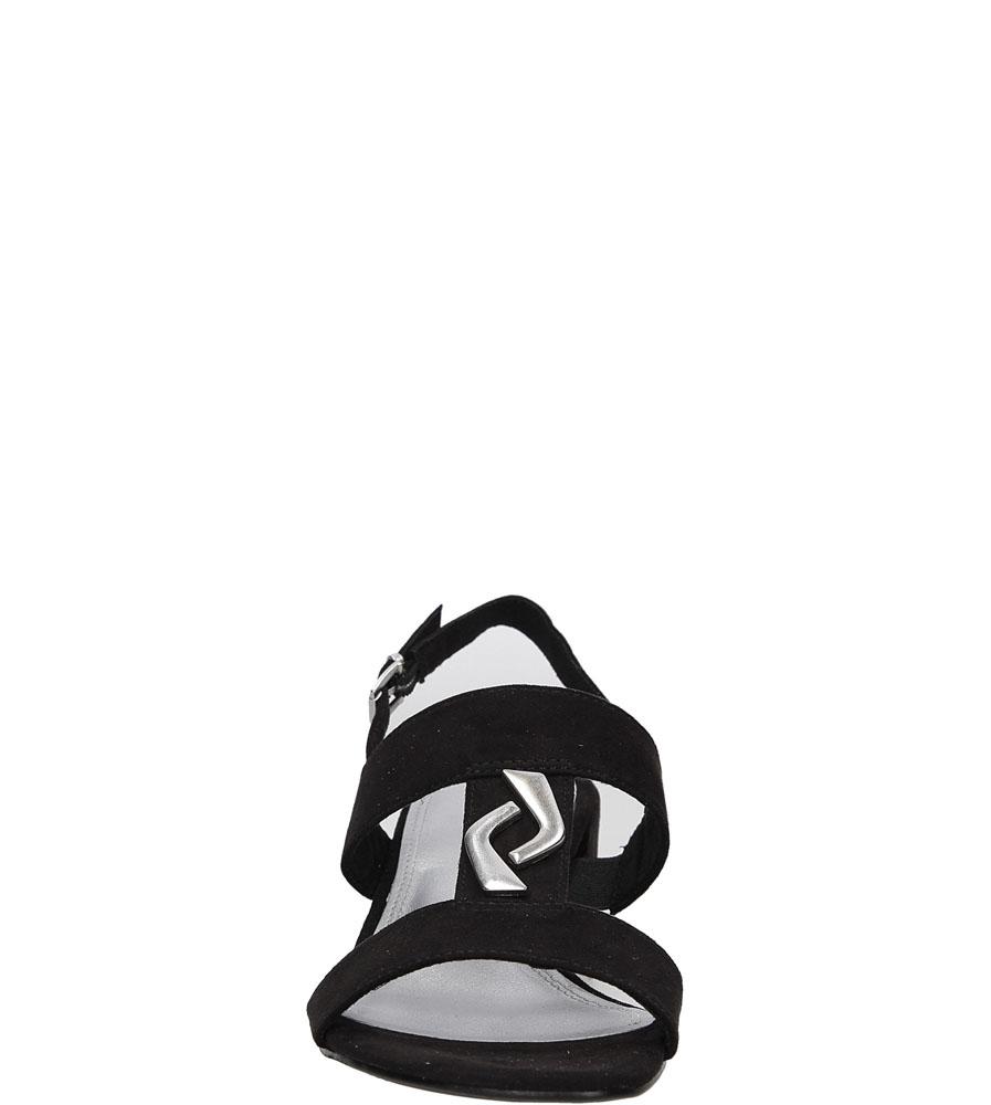Sandały czarne Marco Tozzi 2-28200-28 kolor czarny