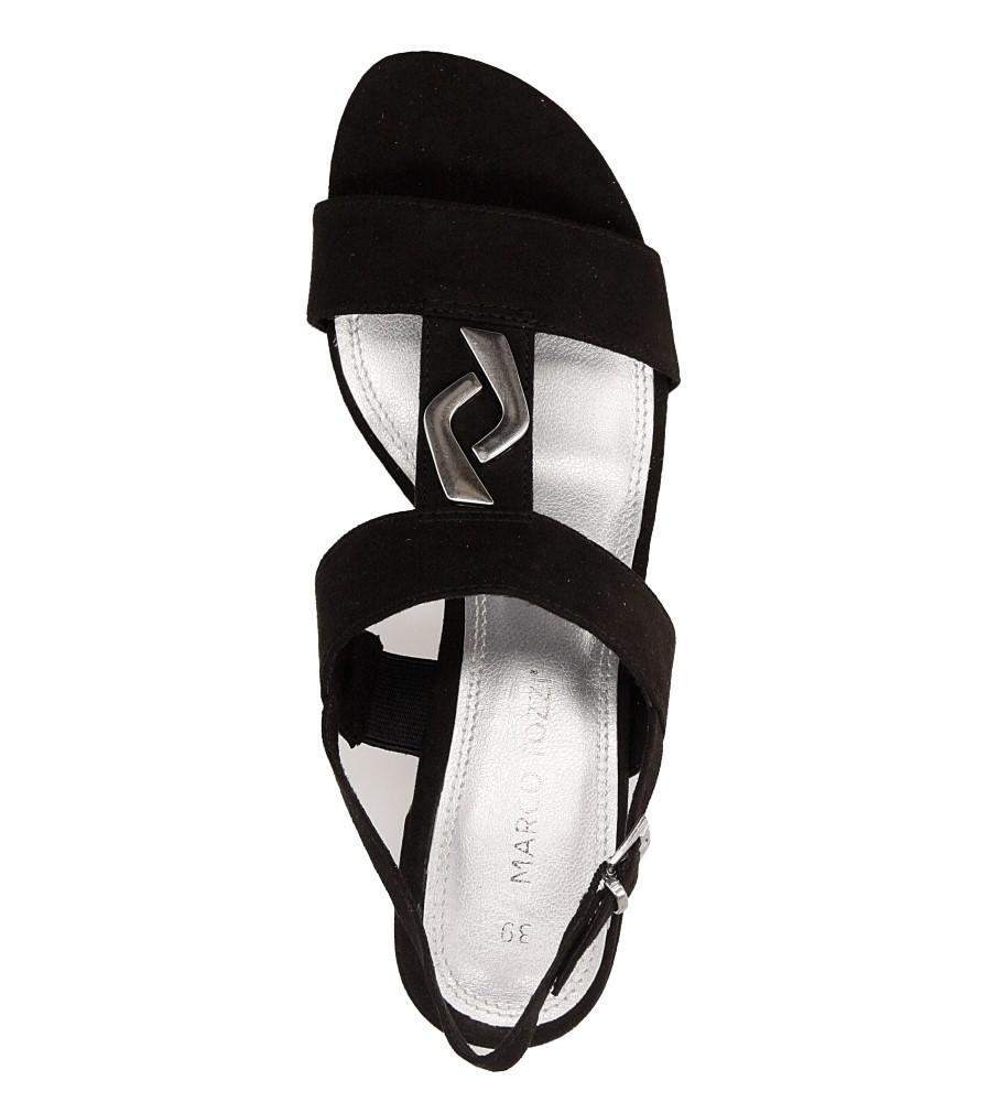 Sandały czarne Marco Tozzi 2-28200-28 wys_calkowita_buta 10 cm