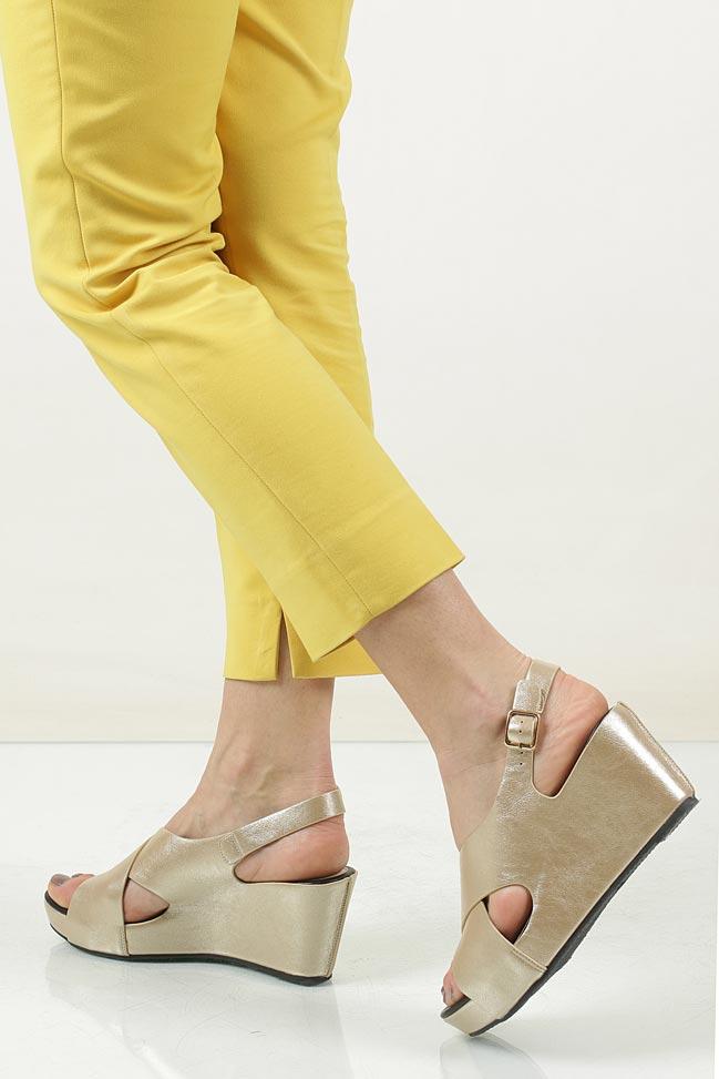Sandały na koturnie Casu LS06709P wysokosc_obcasa 8.5 cm
