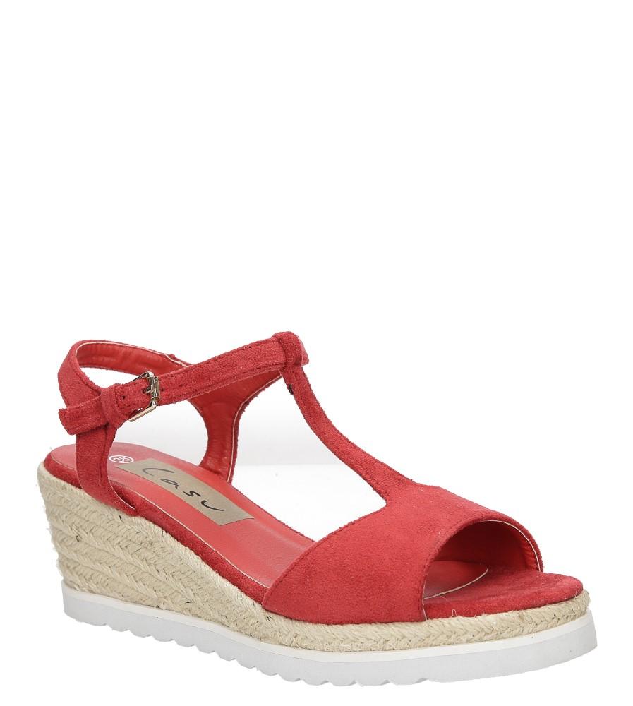Sandały na koturnie Casu LS55710P producent Casu