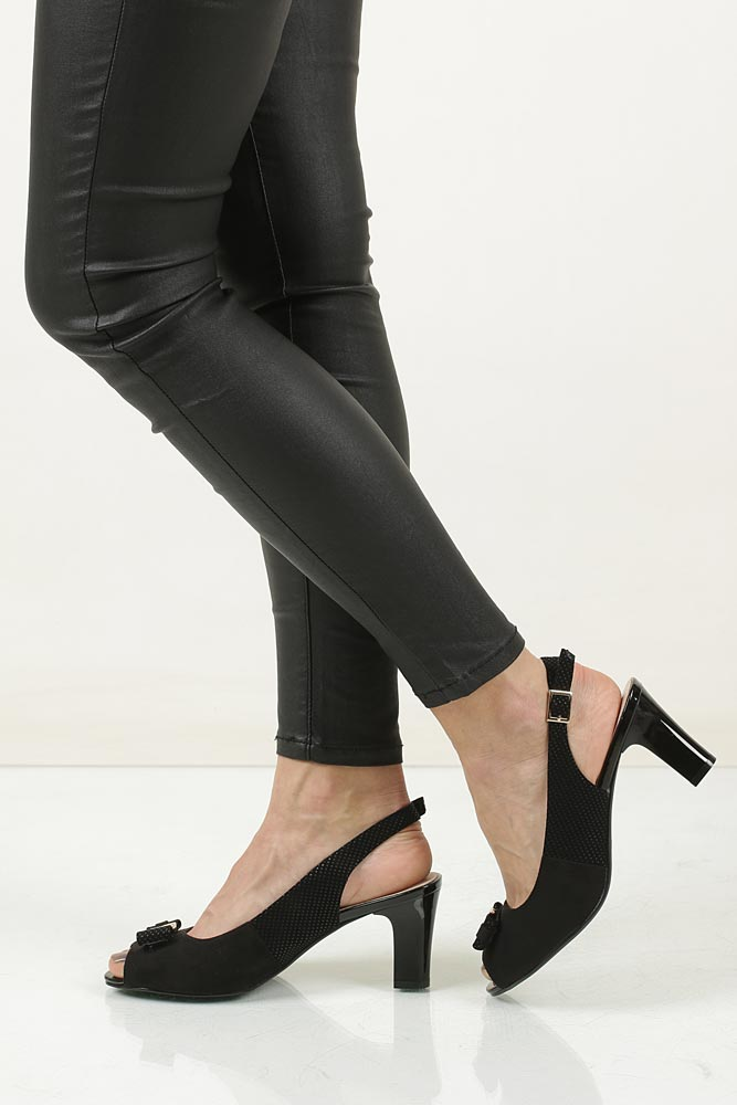 Sandały na słupku Sergio Leone 23051