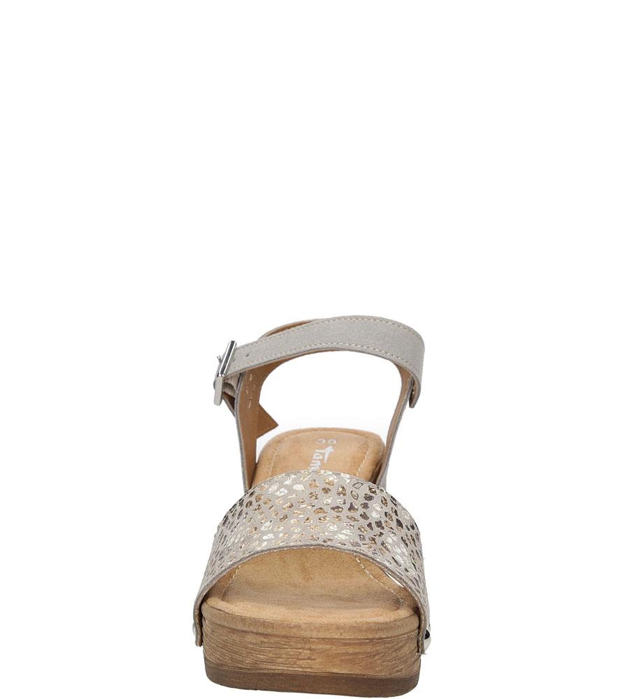 Obuwie Damskie Buty Sandały skórzane na platformie Tamaris