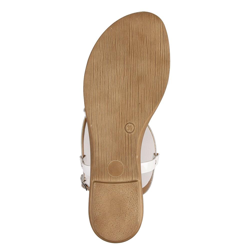 Sandały skórzane z ozdobami Marco Tozzi 2-28141-28 wys_calkowita_buta 9 cm