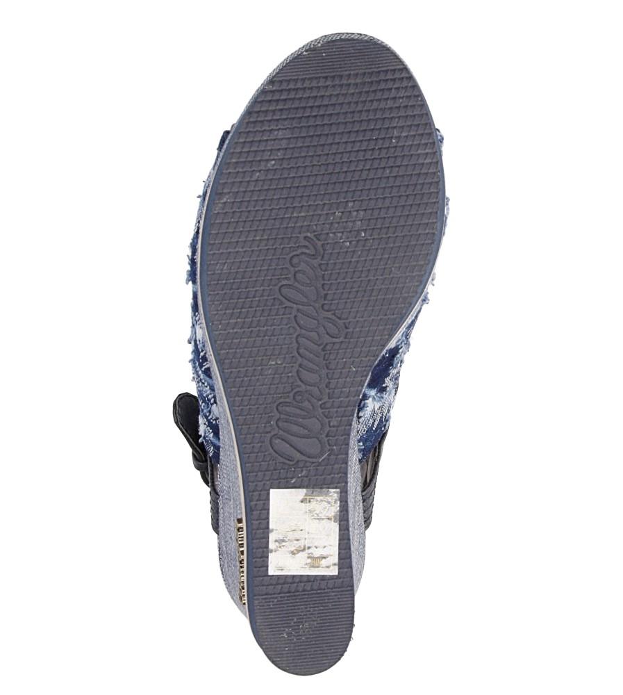 Sandały Wrangler Kelly Indigo WL171683 zapiencie rzemyk