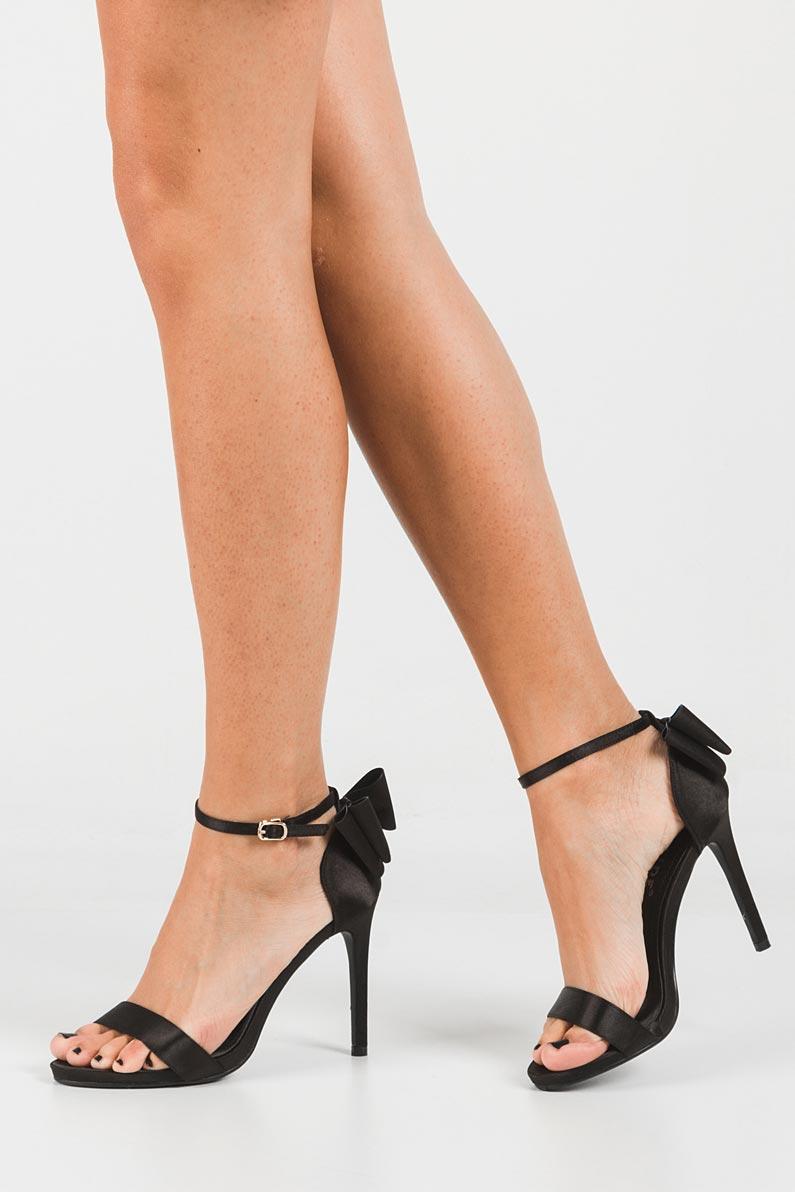 Sandały z kokardą Casu WD-560 wys_calkowita_buta 18 cm