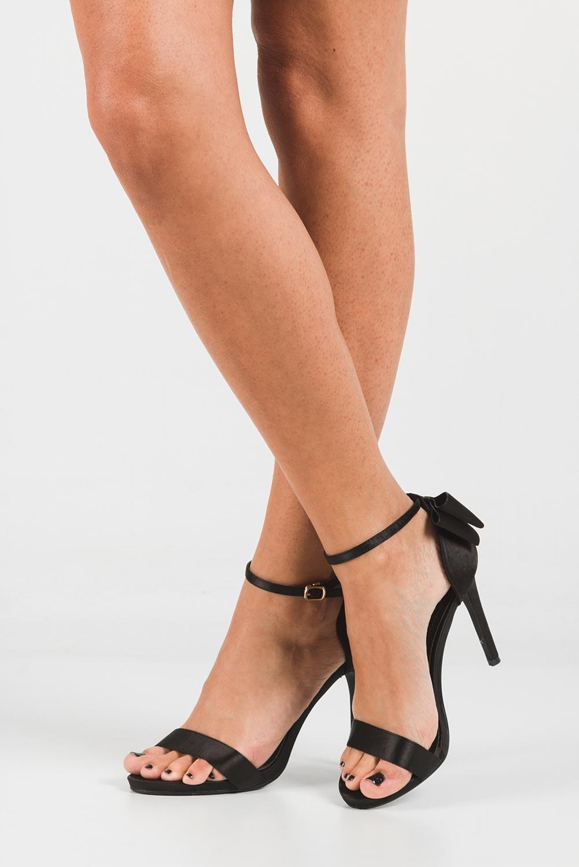Sandały z kokardą Casu WD-560 wkladka skóra ekologiczna