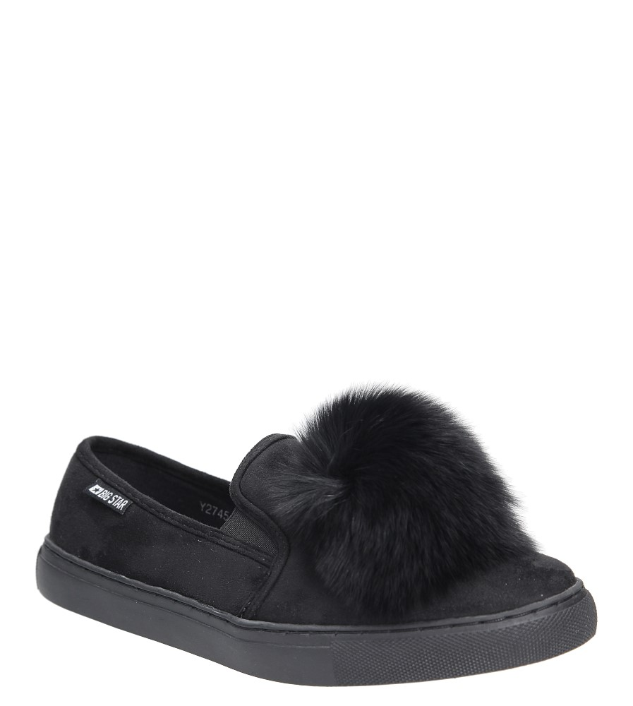 Slip on z futerkiem  Big Star Y274478