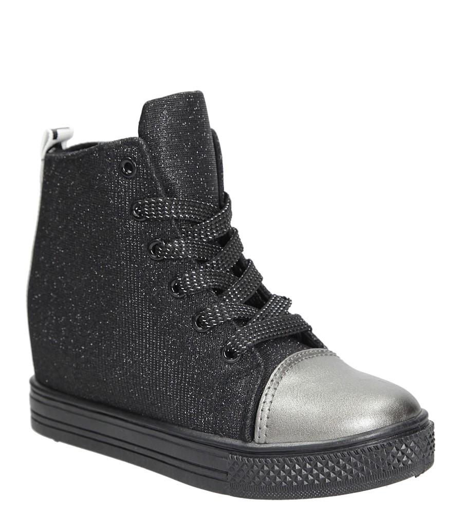 Sneakersy błyszczące Casu TL019C