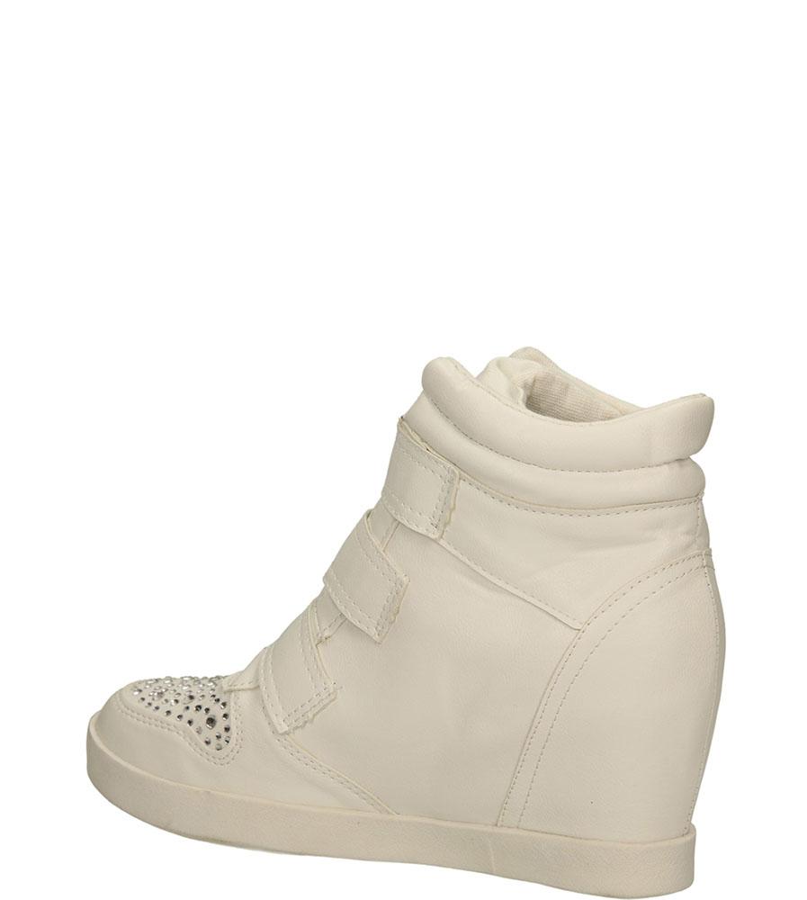 SNEAKERSY CASU FC-G01 kolor biały