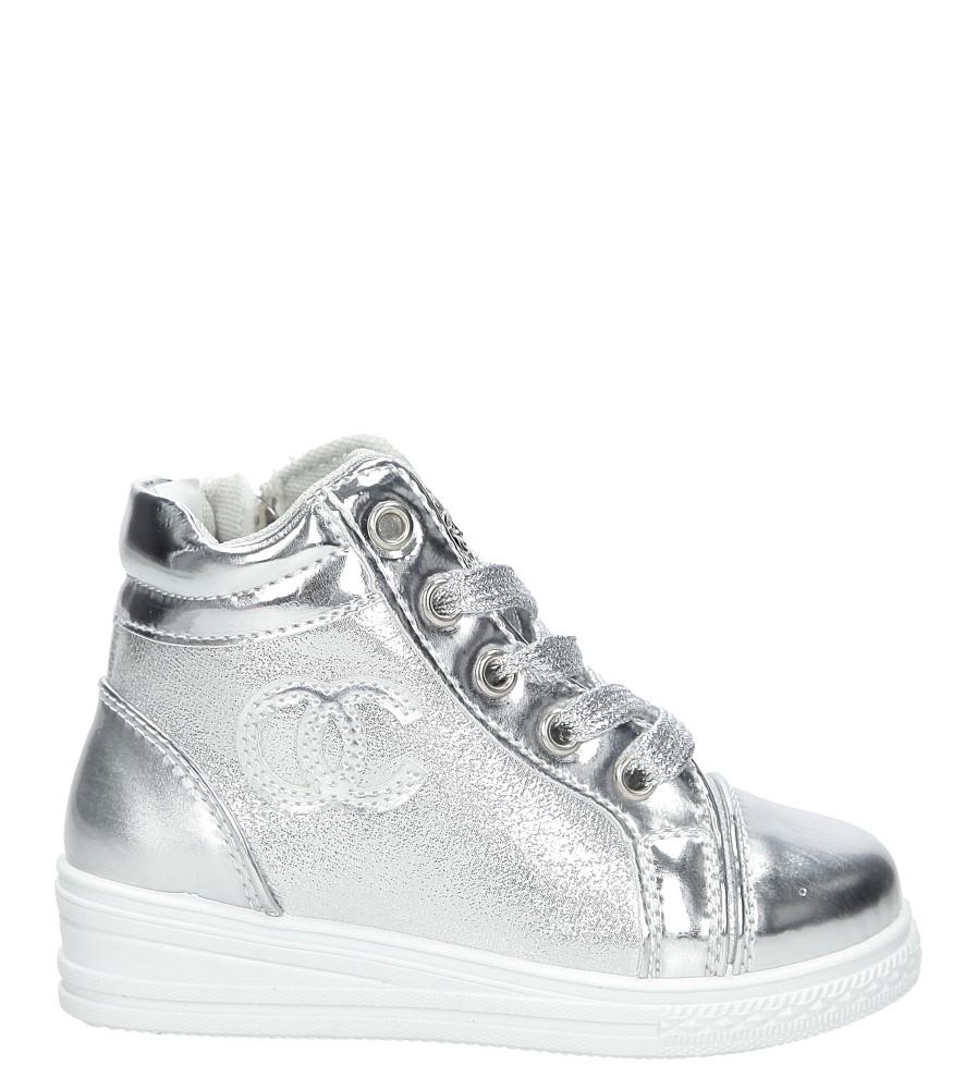 Dziecięce Sneakersy Casu R15D-3 srebrny;;