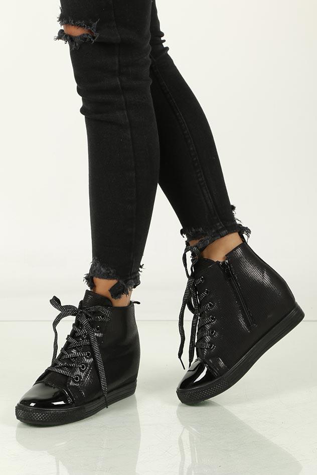 Sneakersy na koturnie Casu 29333