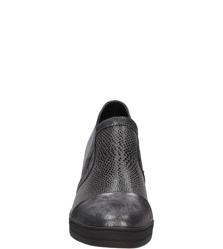 Sneakersy na koturnie S.Barski L05717P wys_calkowita_buta 17 cm