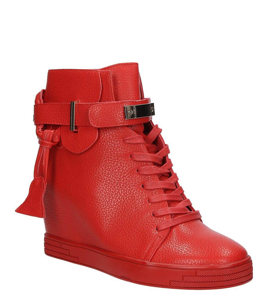 Damskie SNEAKERSY SERGIO LEONE 28788 czerwony;;