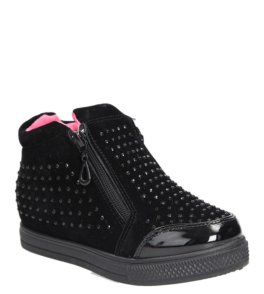 Sneakersy z cyrkoniami Casu R51C