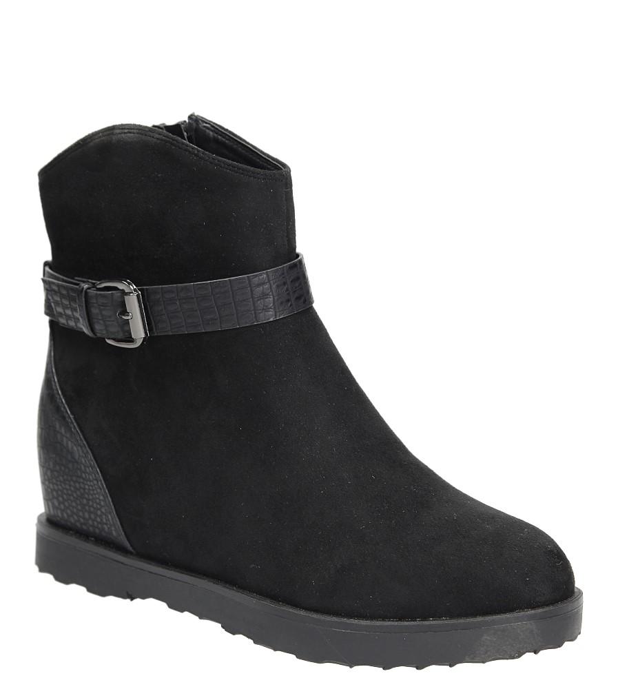 Sneakersy z klamrą Casu ES-2569 czarny