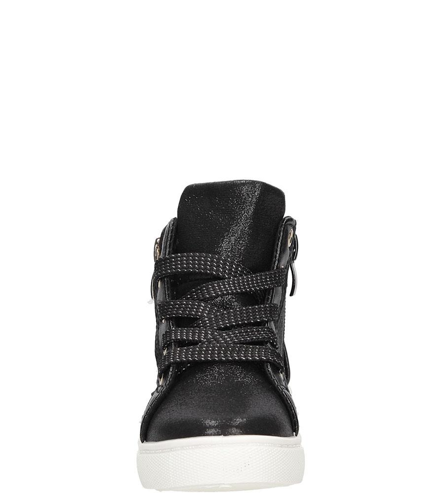 Sneakersy z ozdobnym zamkiem Casu DD403 wysokosc_platformy 2 cm