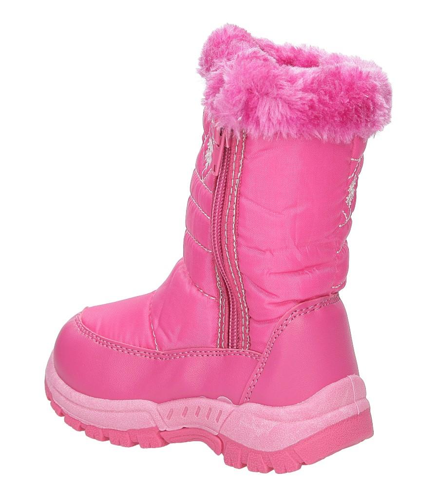 Śniegowce Casu B3505F kolor różowy