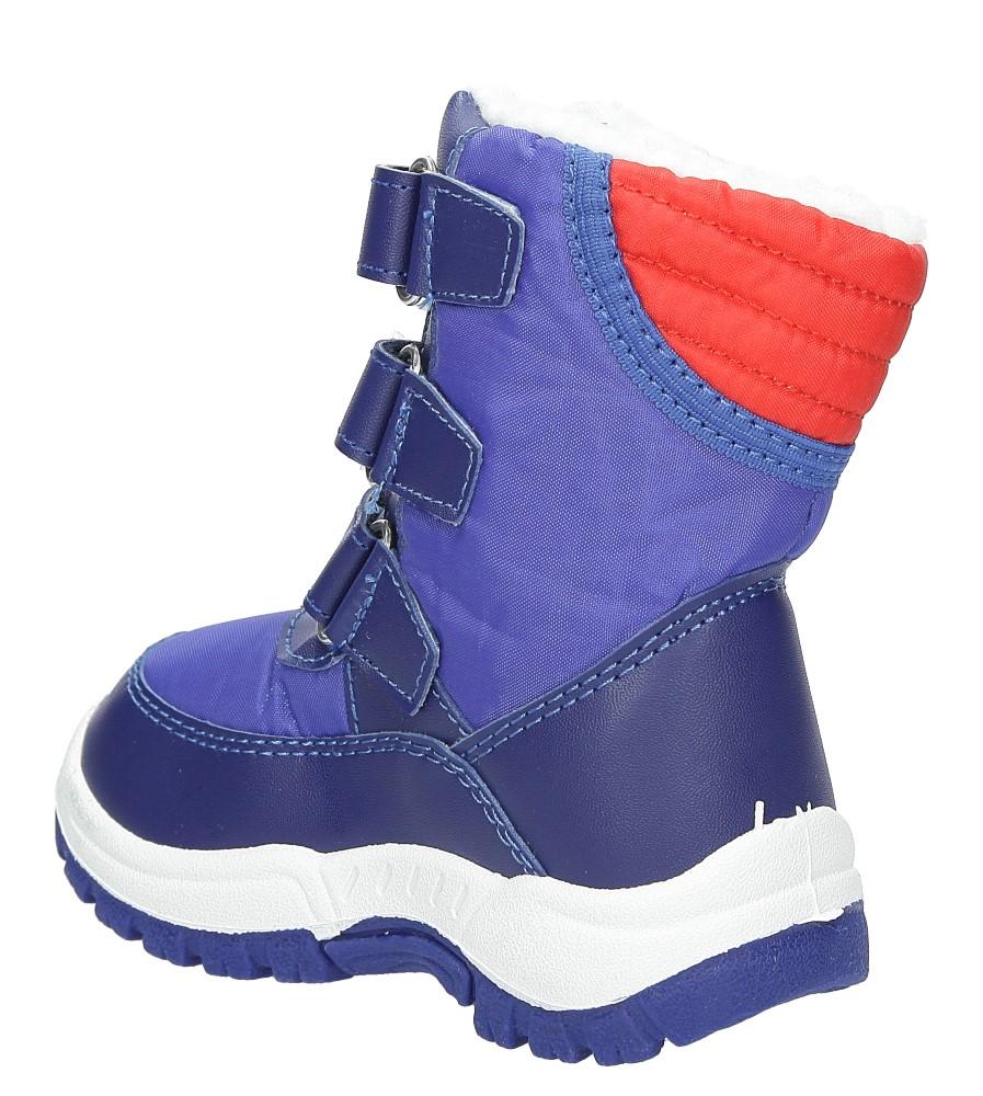 Śniegowce Casu B3507A kolor niebieski