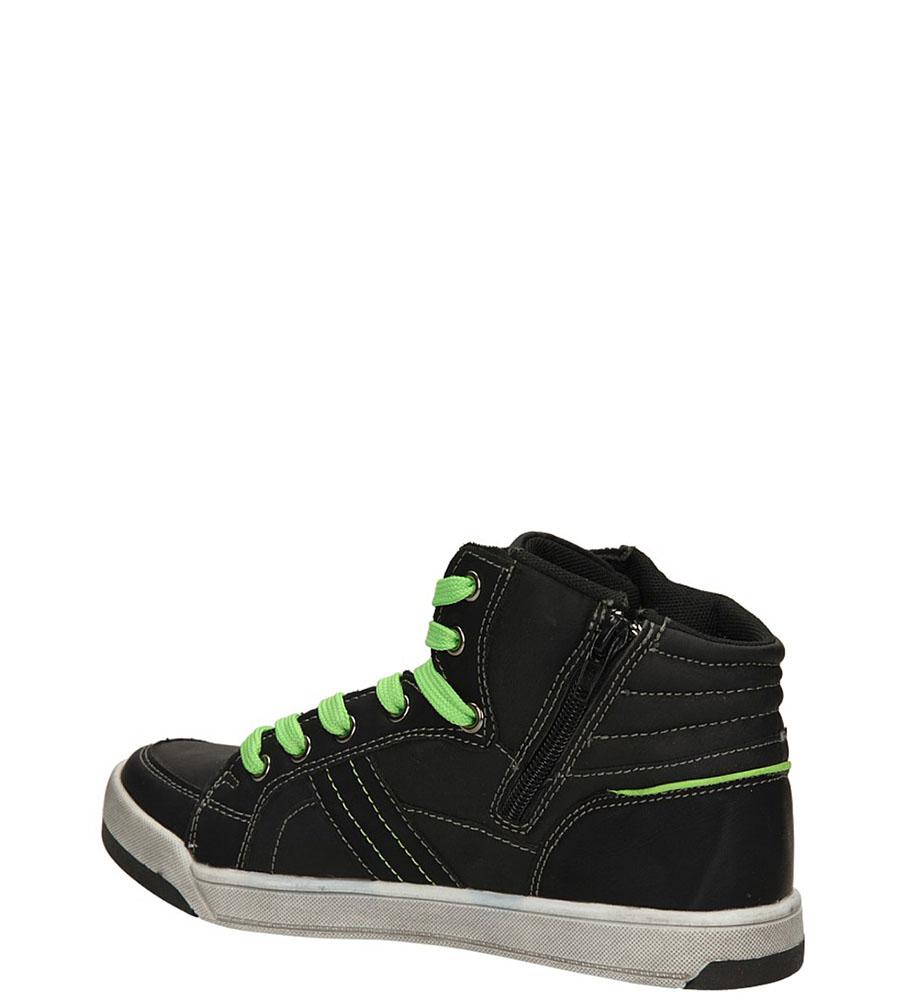 SPORTOWE 5XC6523 kolor czarny, zielony