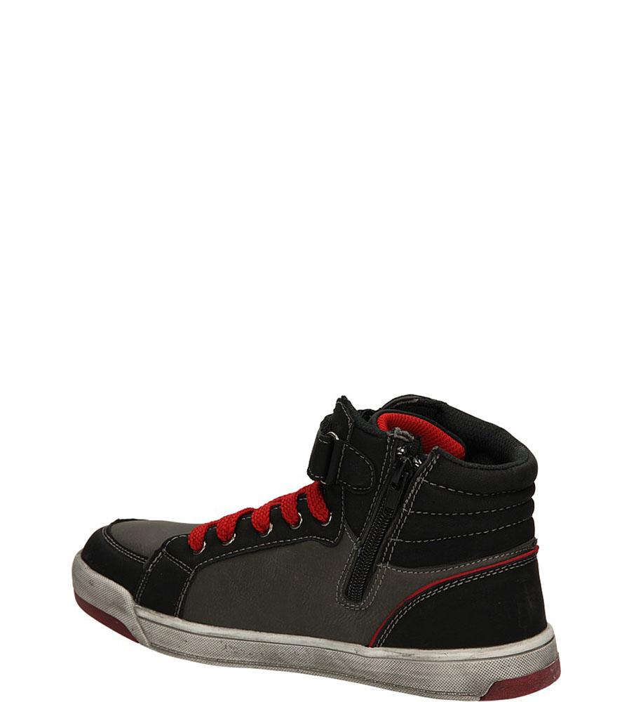 SPORTOWE 5XC6587 kolor ciemny szary, czarny