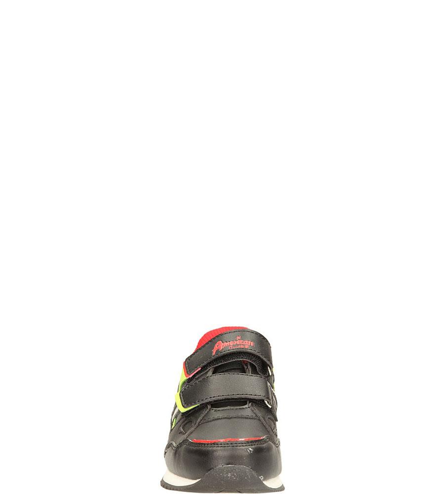 SPORTOWE AMERICAN K12863 kolor czarny, czerwony