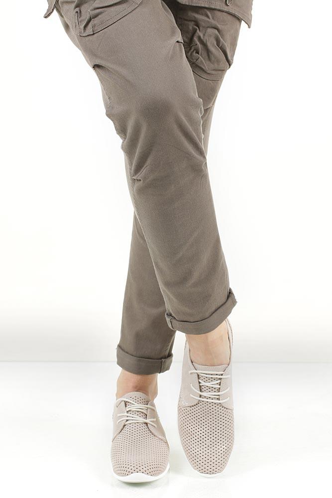 Sportowe beżowe ażurowe Marco Tozzi 2-23728-28 wys_calkowita_buta 13 cm