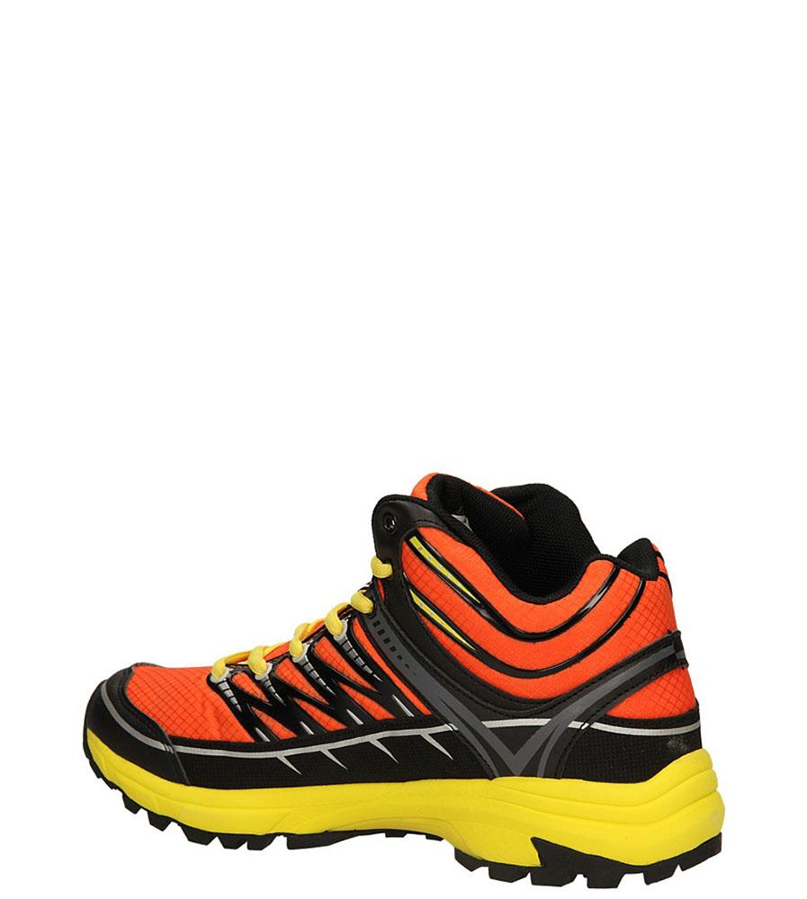 SPORTOWE BRZM-46 kolor czarny, pomarańczowy, żółty