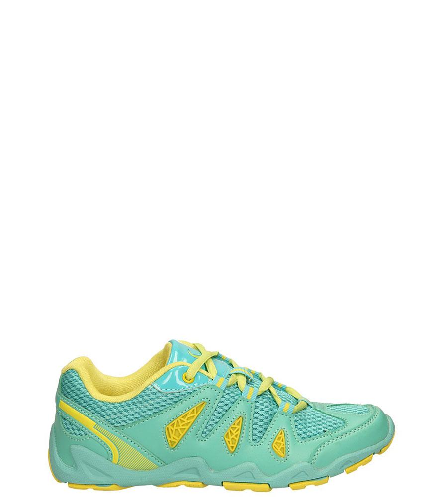Damskie SPORTOWE CASU 713552 zielony;żółty;
