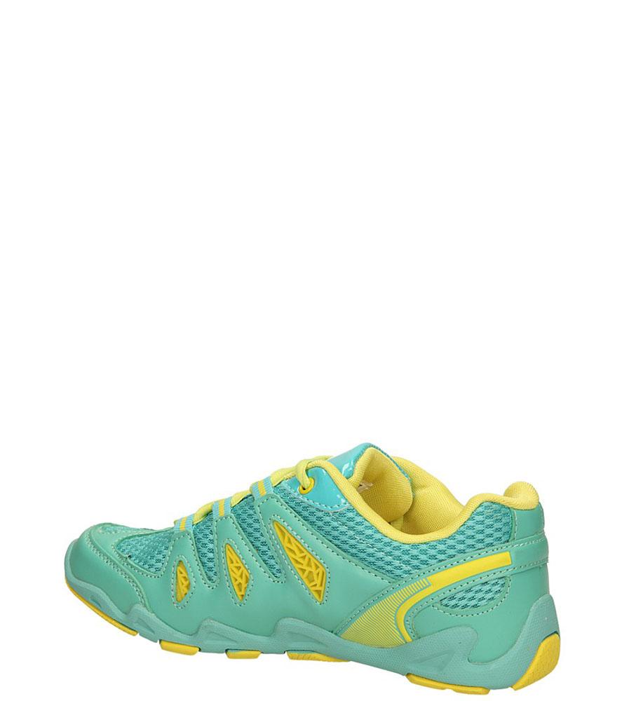 SPORTOWE CASU 713552 kolor jasny zielony, żółty
