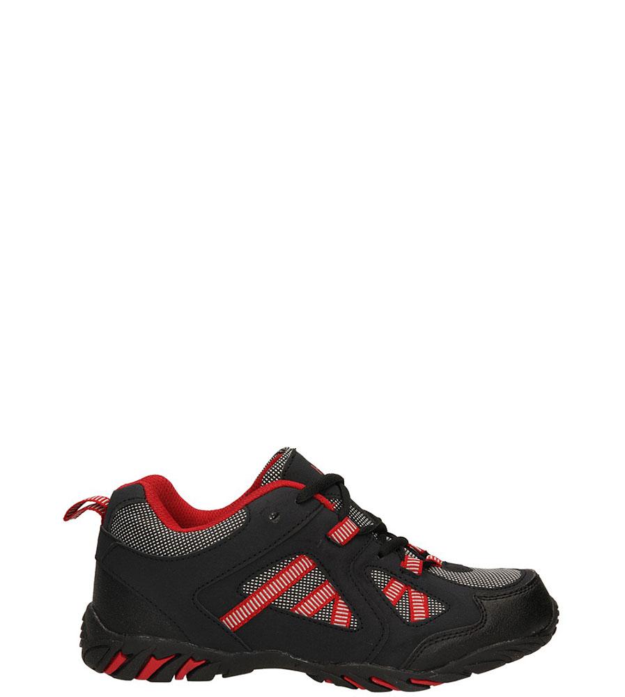 Damskie SPORTOWE CASU 7A-EF14174 czarny;czerwony;