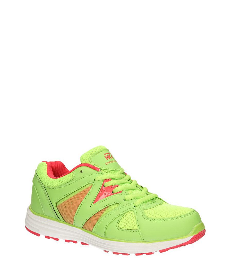 Damskie SPORTOWE CASU 7A-HG84563 zielony;czerwony;