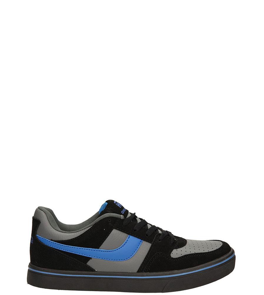 Damskie SPORTOWE CASU 7ACH-34167 czarny;szary;niebieski