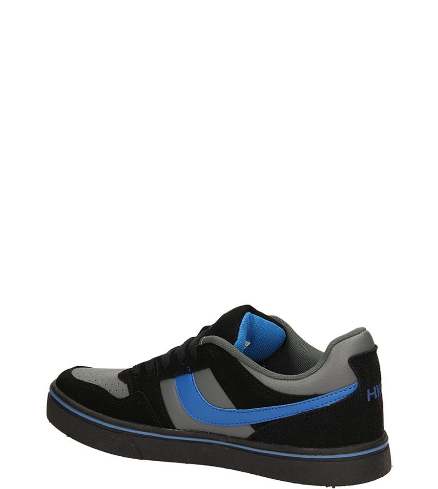 SPORTOWE CASU 7ACH-34167 kolor ciemny szary, czarny, niebieski