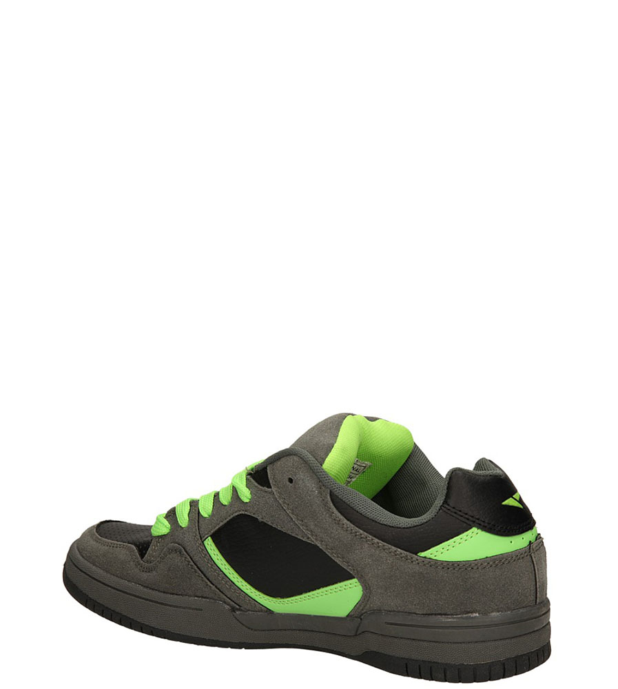 SPORTOWE CASU 9ACH-82754 kolor czarny, szary, zielony