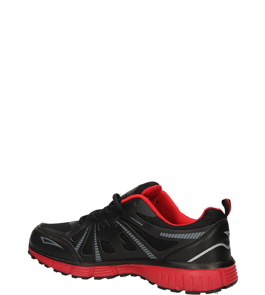 SPORTOWE CASU A125-4 kolor czarny, czerwony