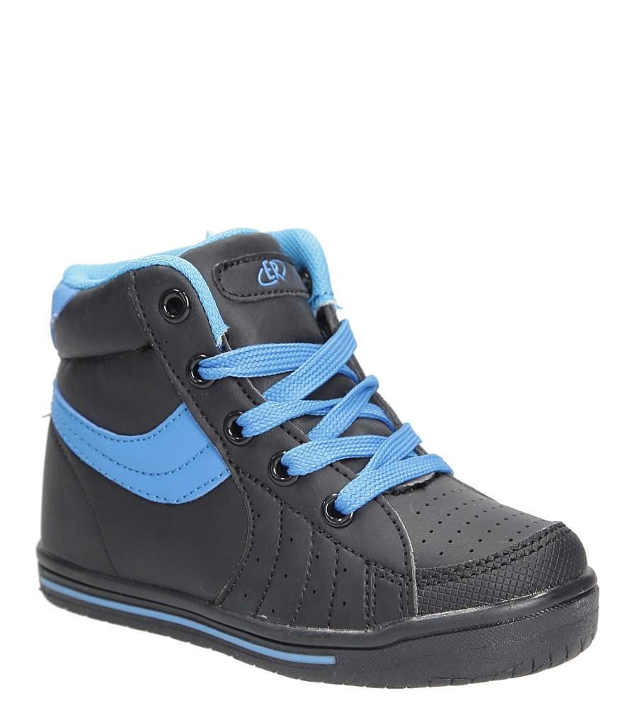 Dziecięce Sportowe Casu FB287 czarny;niebieski;