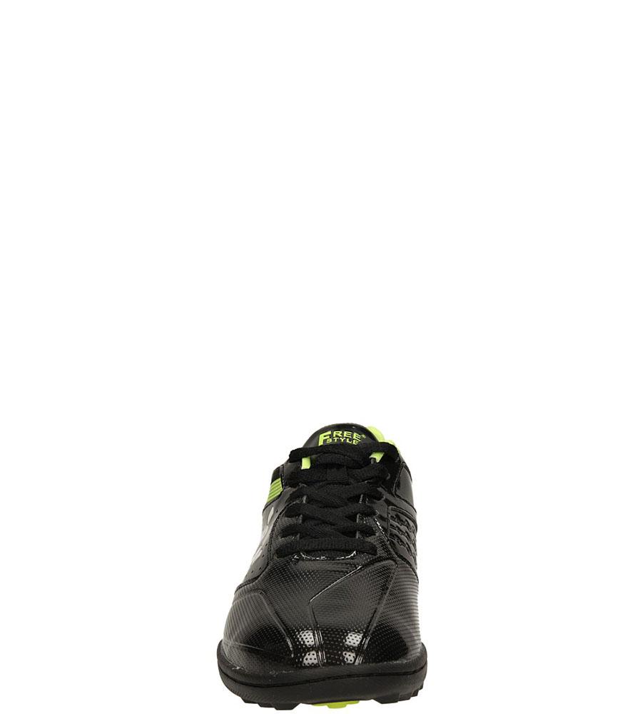 SPORTOWE CASU SD876-B kolor czarny, zielony