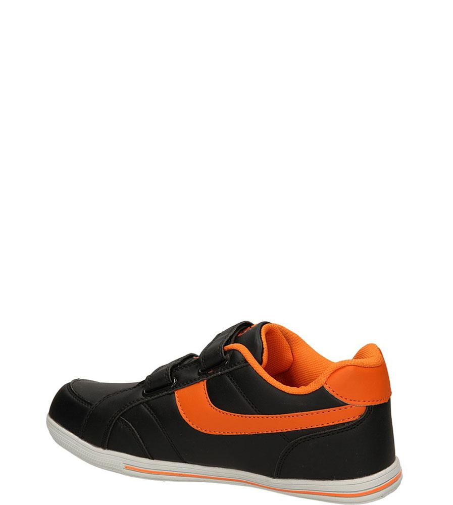 SPORTOWE FX0842B kolor czarny, pomarańczowy