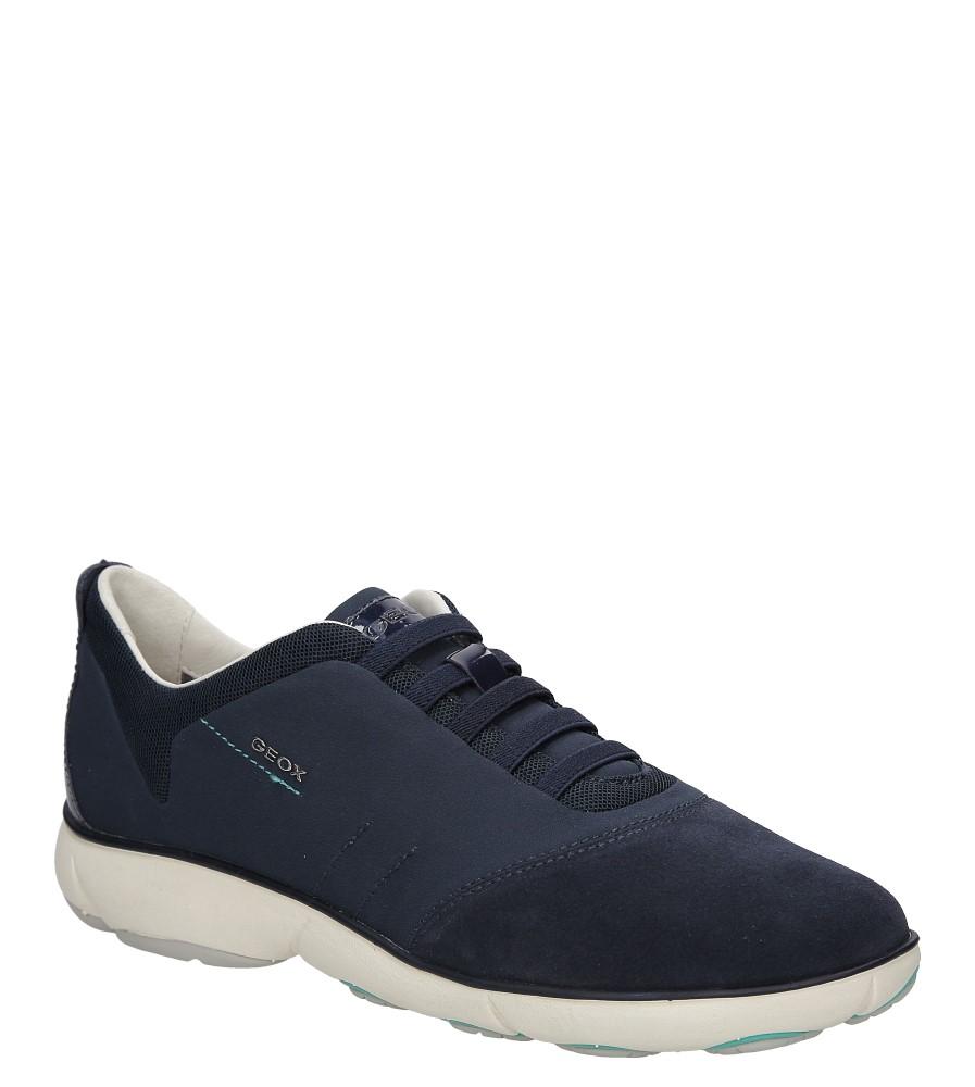 Damskie SPORTOWE GEOX D621EC 01122 niebieski;;
