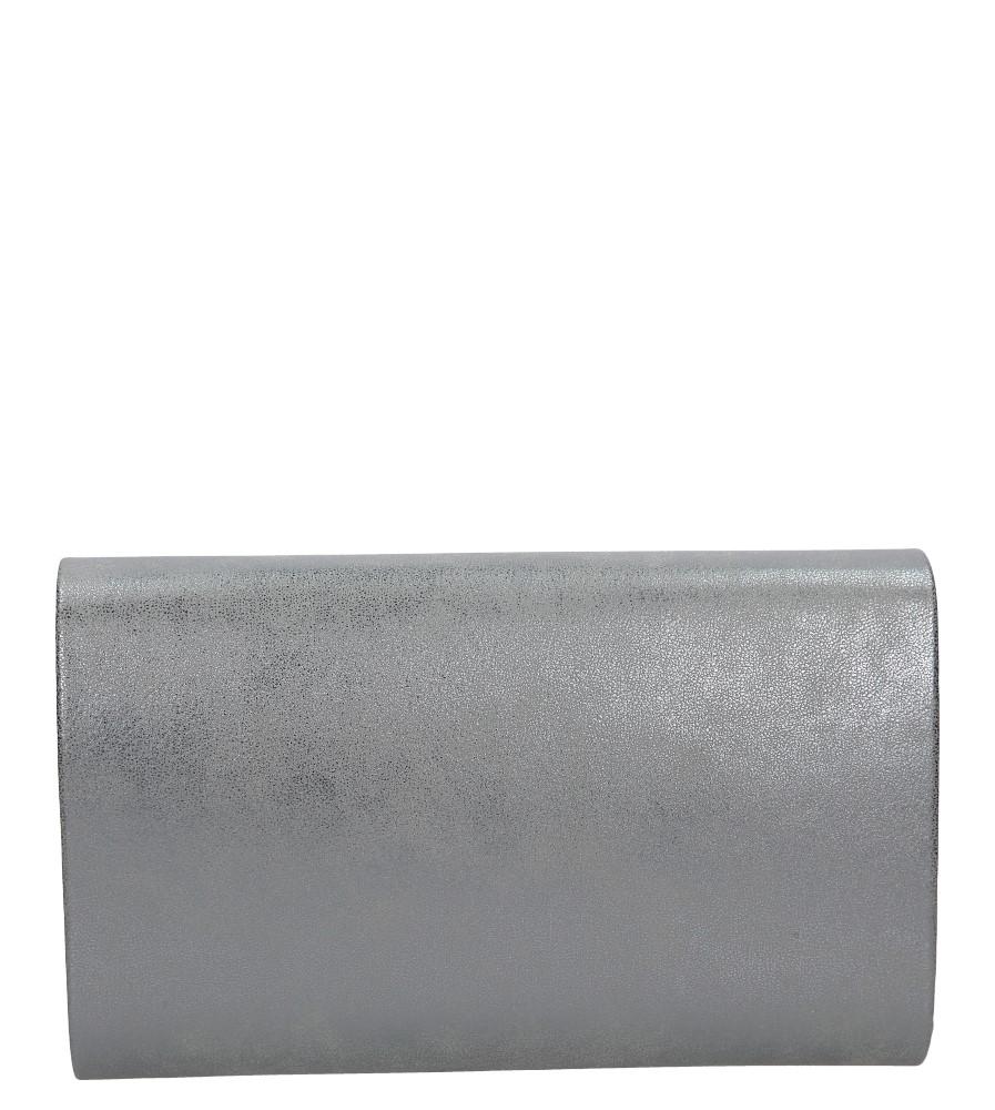 Stalowa torebka wizytowa z nitami Casu R20B