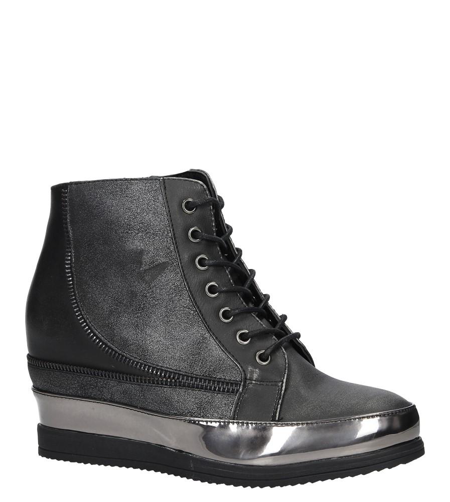 Stalowe sneakersy sznurowane Sergio Leone 27083