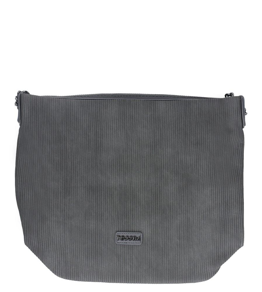 Szara torebka listonoszka Casu 4021-TS