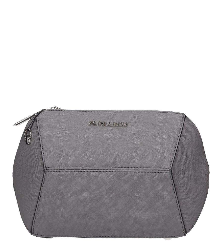 Szara torebka mała Casu F6358