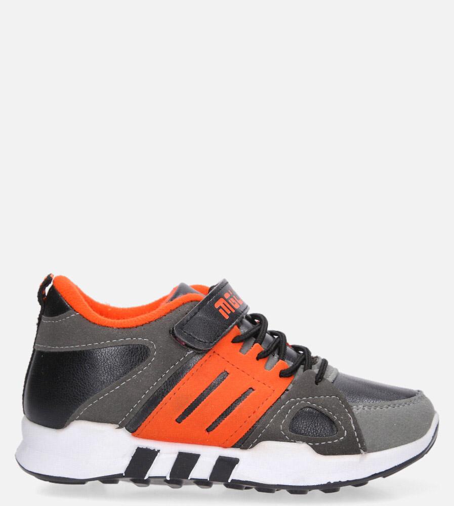 Szare buty sportowe Casu 20X1/M szary