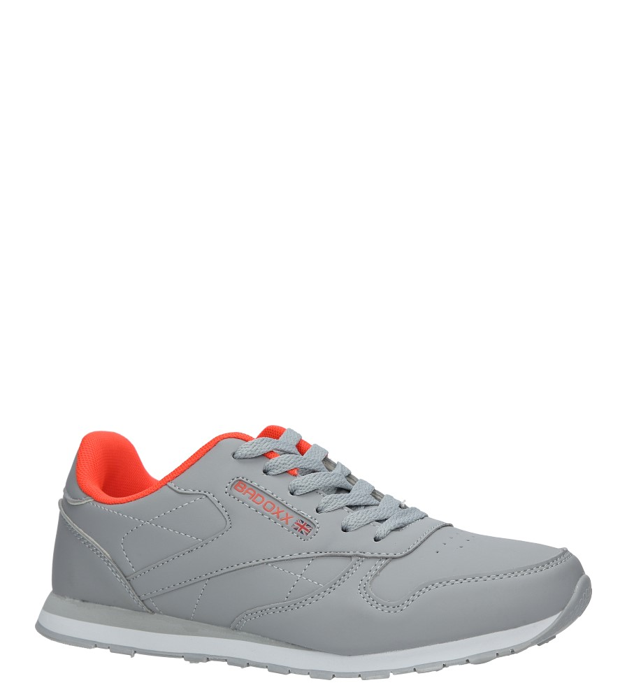 Szare buty sportowe Casu LXC7236