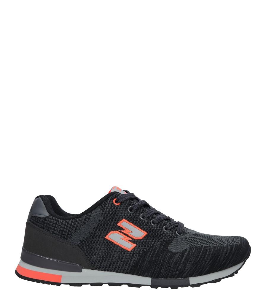 Szare buty sportowe Casu MXC7542 ciemny szary