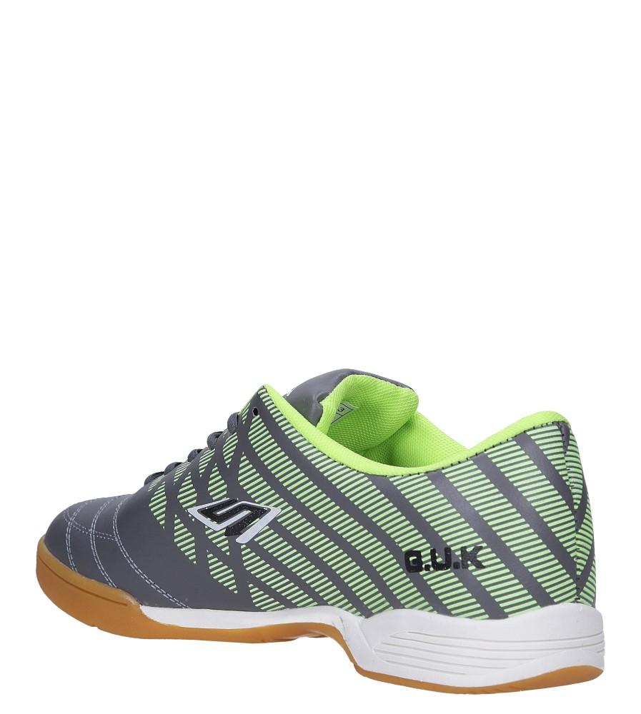 Szare buty sportowe halówki Casu A1713-3 sezon Całoroczny