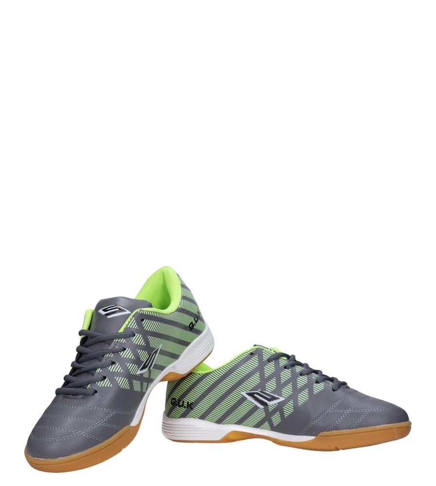 Szare buty sportowe halówki Casu A1713-3 kolor szary
