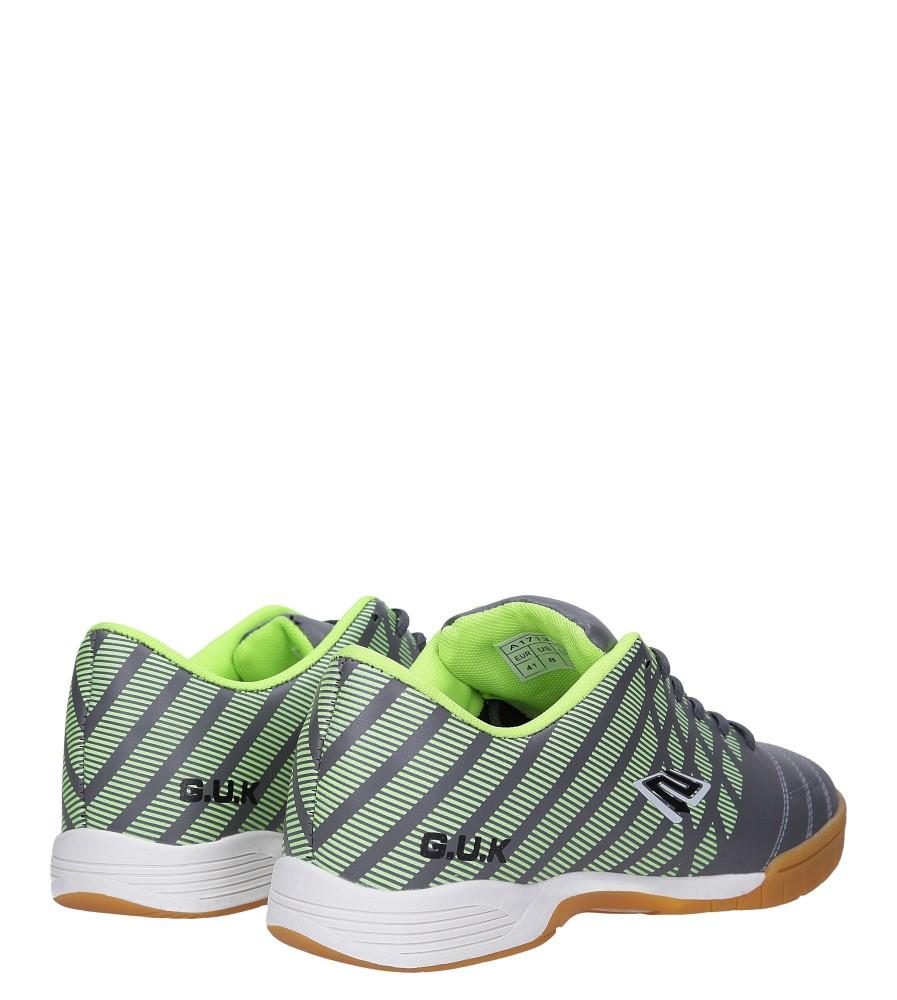 Szare buty sportowe halówki Casu A1713-3 wysokosc_platformy 1.5 cm